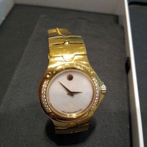Movado Diamond Museum Gold Sport Edition Watch